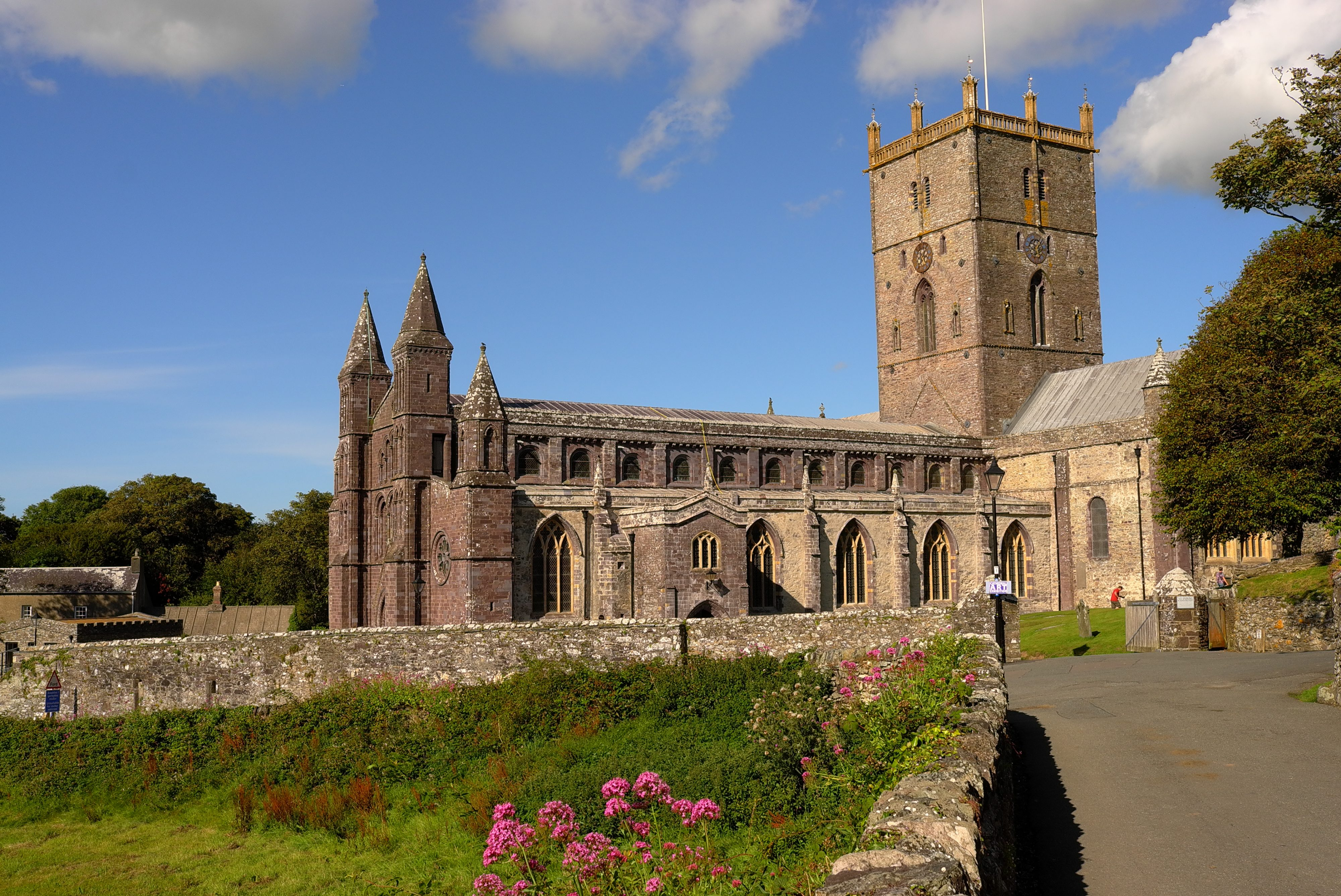 St Davids Cathedral - A-levels