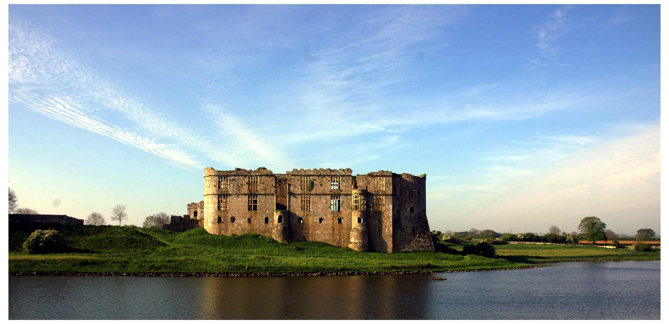 Carew Castle - A-levels