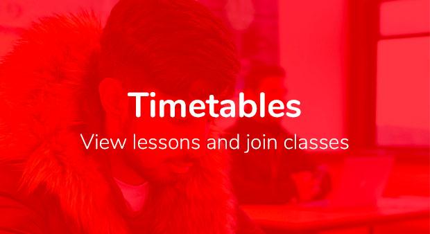 Timetables copy 1 - Student Portal